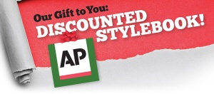Discounted AP style book SPJ National ad