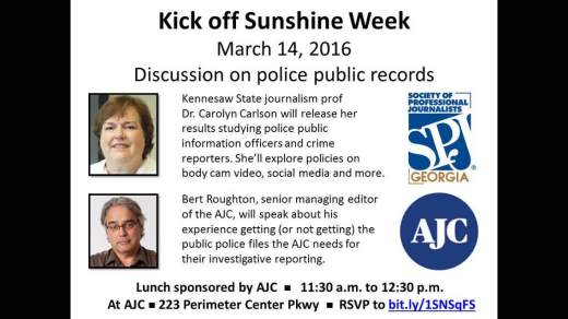 SunshineWeekKickoff