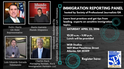 Immigration Reporting Panel, April 23