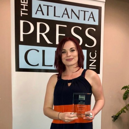 Finding her dream job, Ciara Frisbie says it requires hands-on experience to succeed in journalism